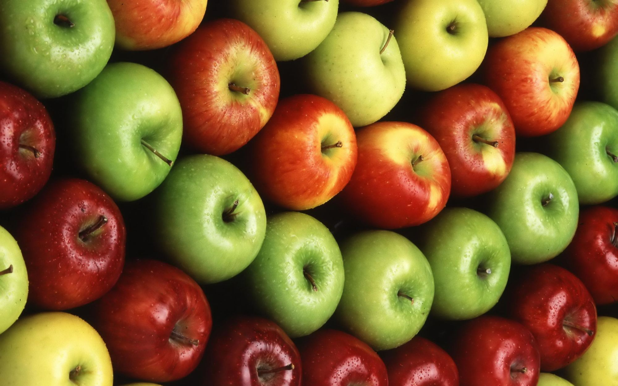 Biodiversity in the market - Apple diversity